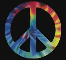 Tie Dye 1 Peace Sign by mob345
