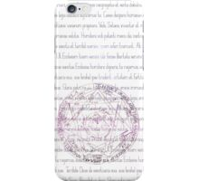 Supernatural Exorcism White Case iPhone Case/Skin