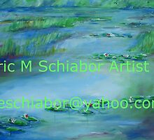 Monet Water lilies  by schiabor