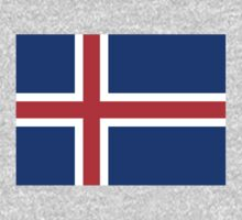 Iceland Flag by cadellin