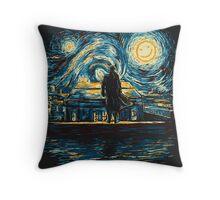 Starry Fall (Sherlock) Throw Pillow