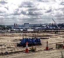 Swan Hunter Shipyard by Andrew Pounder