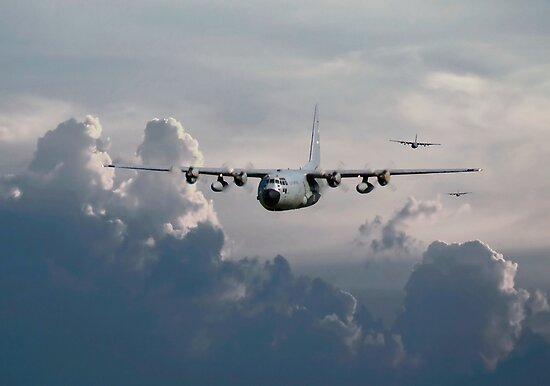 C130-Hercules ....In Trail by warbirds