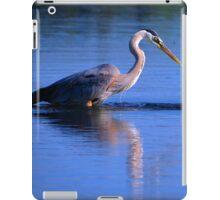 Great Blue Heron 1 iPad Case/Skin