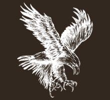 Bald Eagle (White) by shirtsapalooza