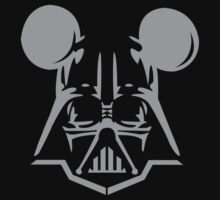 Darth Vader Mickey Mouse mousehead by cerenimo
