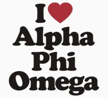 I Love Alpha Phi Omega by iheart