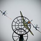 3 to 1 Outgunned!!  - Duxford Flying Legends 2013 by Colin J Williams Photography