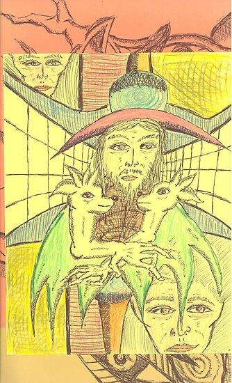 vagabond scarecrow by wormink