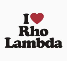 I Love Rho Lambda by iheart