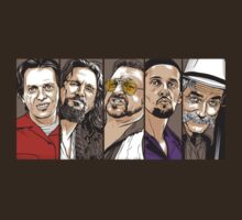 The Big Lebowski Characters - Comic Style by Cimoe