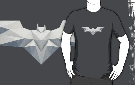 Batman logo - geometric textured by Braden  Stevenson
