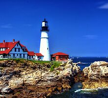 Portland Head Light, Portland, Maine by fauselr