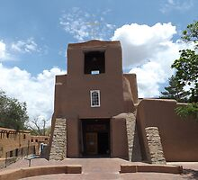 Oldest Church Structure in United States, San Miguel Church, Circa 1610, Santa Fe, New Mexico by lenspiro