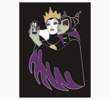 Grimhilde & Maleficent Selfie STICKER by SwanStarDesigns