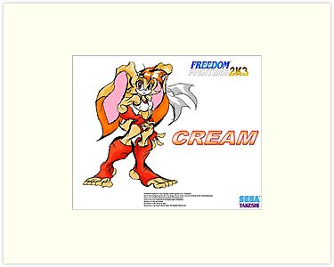 Cream (Freedom Fighters 2K3) Poster by TakeshiUSA