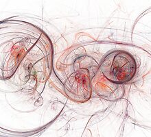Vibrant Fractal by Henrik Lehnerer