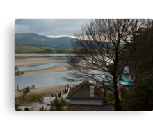 Estuary from Portmeirion Canvas Print
