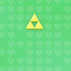 Healthy Triforce Green by Andrew Savage