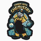Cooking With Chemistry - STICKER by WinterArtwork