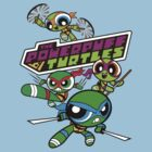 The Powerpuff Turtles by DJKopet