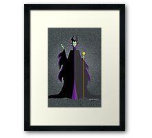 Origami - Mistress of All Evil Framed Print