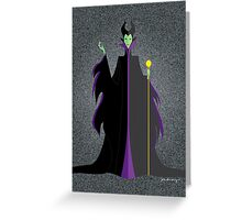 Origami - Mistress of All Evil Greeting Card