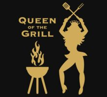 Queen Of The Grill (Barbecue) by MrFaulbaum