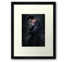 Moriarty - Sherlock BBC Framed Print