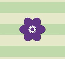 Chic Flowers, Blossoms, Blooms and Petals Purple by sitnica