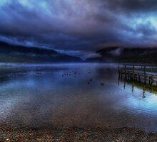 Lake Rotoiti at sunrise by Robyn Carter