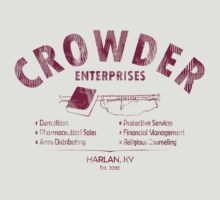 Crowder Enterprises (Cardinal Distressed) by pixhunter