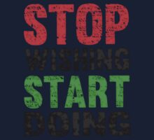 Stop Wishing Start Doing | Vintage Style Kids Clothes