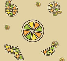 Citrus Pattern by SVaeth