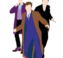 The New Who Doctors by asnish