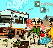 Breaking Bad Cartoon by supremedesigns