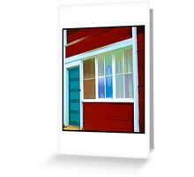 In The Window. Greeting Card