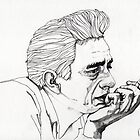Johnny Cash by Paul  Nelson-Esch