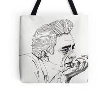 Johnny Cash Tote Bag
