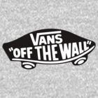Vans Off The Wall Badge Logo by vincepro76