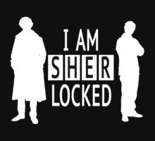 I AM SHERLOCKED - Black&White by jana24
