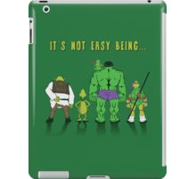 Being Green  iPad Case/Skin