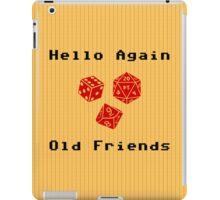 Hello Again Old Friends iPad Case/Skin