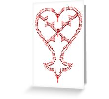 Kingdom Hearts: Keyblades to my Heartless Greeting Card