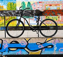 On your bike Banksey by walkda