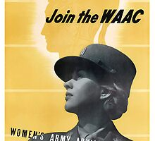 This Is Our War... Join The WAAC by warishellstore