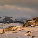 First Light On Higger Tor by John Dunbar