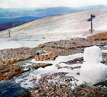 The Lonely Baby Snowman by GraemeHeddle