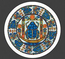Resurrection Mandala w/grey by TheMandalaLady