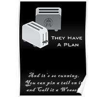Frak Toasters Poster